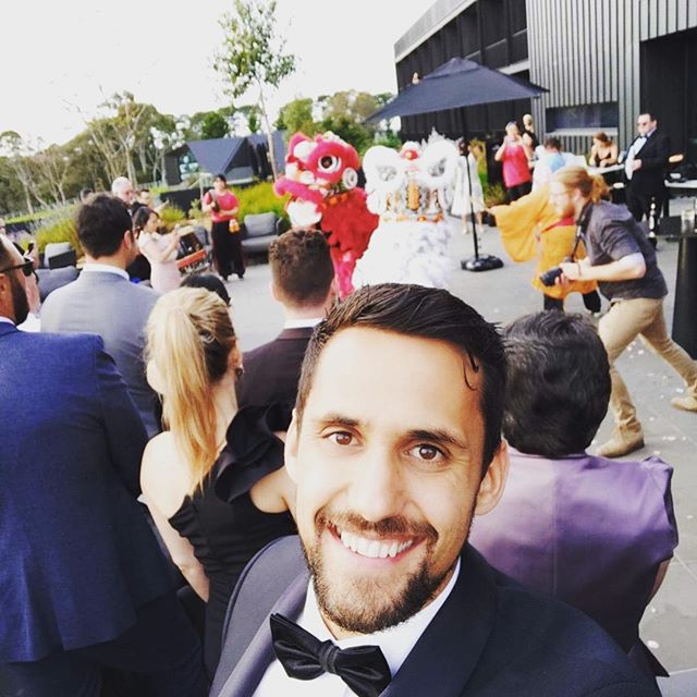 Lucky enough to witness a dragon dance at Ieesha and Rob's exceptionally beautiful wedding at @jackalopehotels a few weeks back. What a venue! #weddingvenue #tradition #chineseculture #melbournewedding #weddinginspo #tux #groom #bride #weddinginspo #jackalopewedding