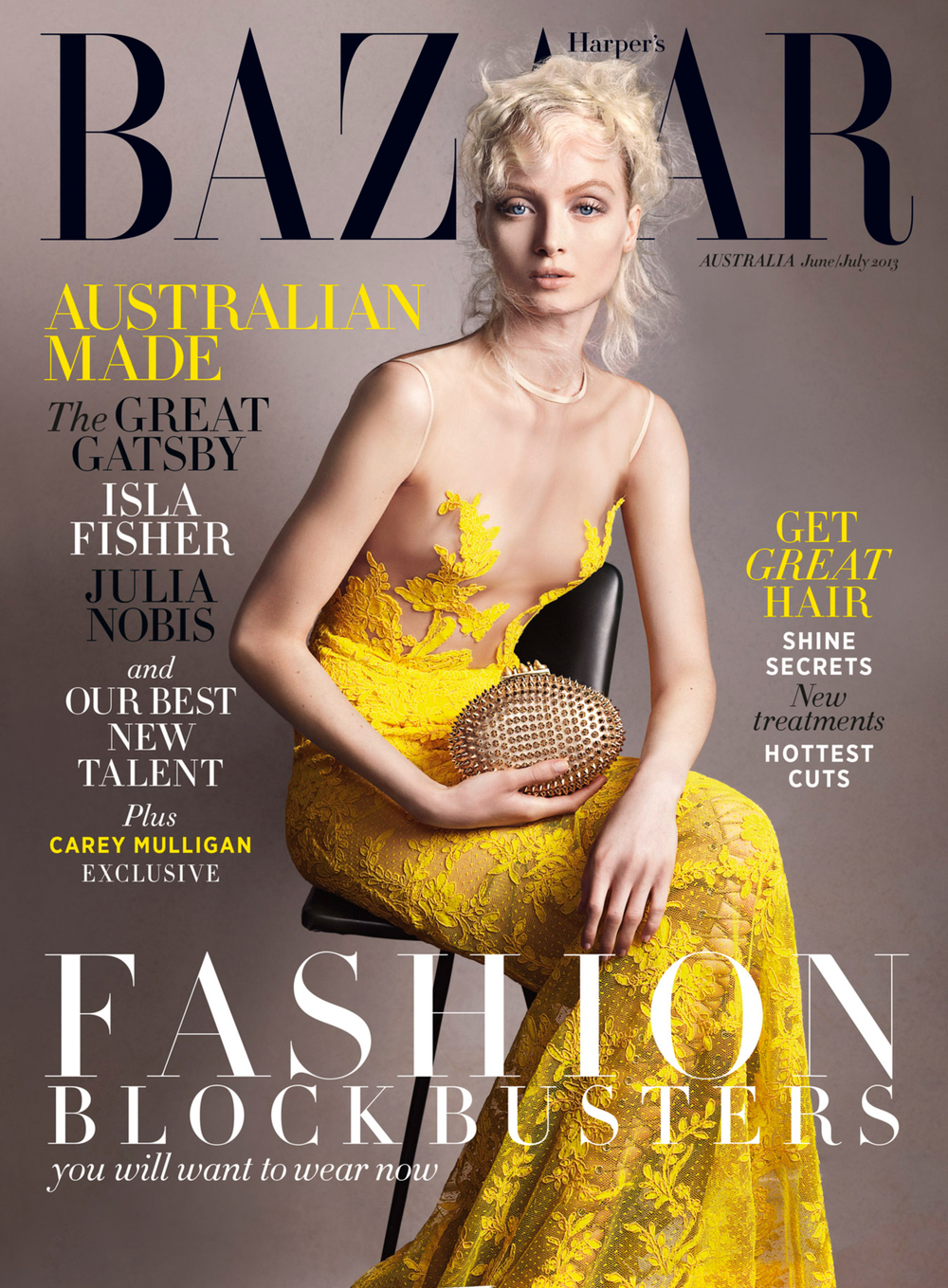HARPERS BAZAAR July 13 Cover