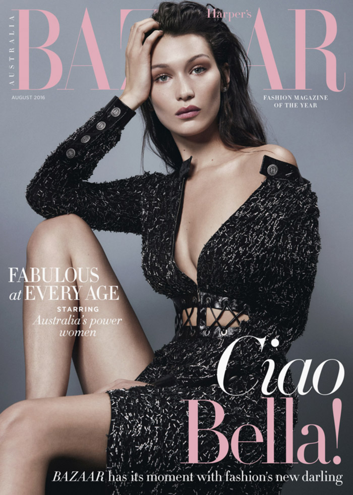Harpers Bazaar Bella of the Ball