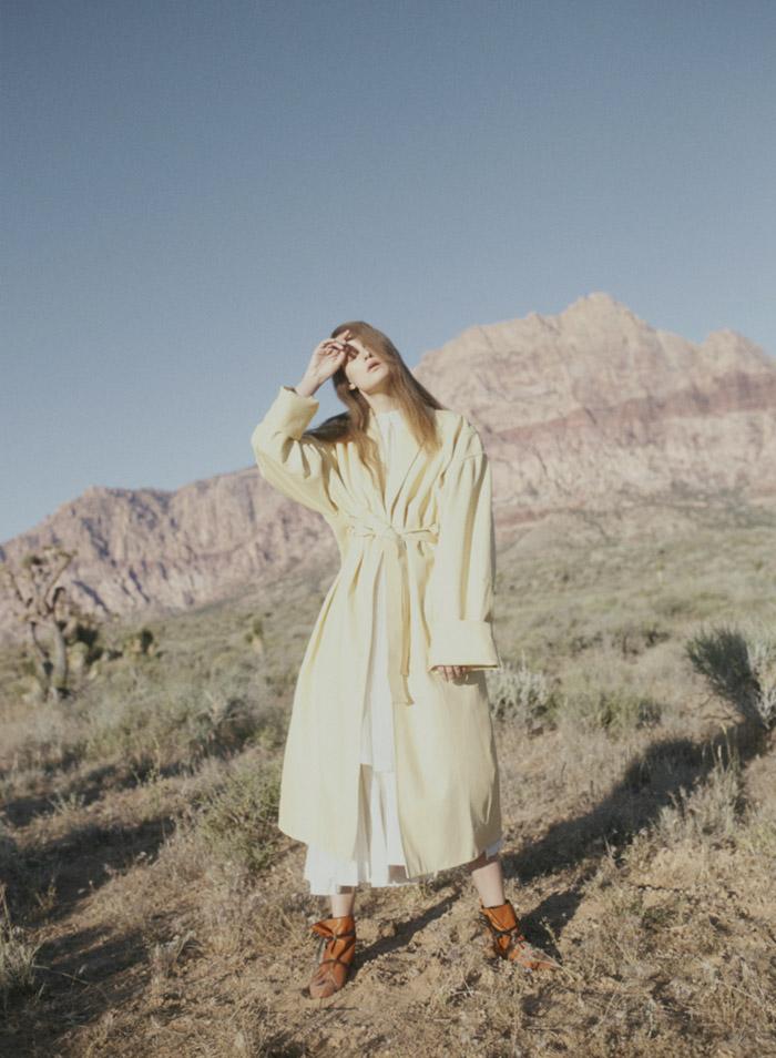 Marie Claire Desert