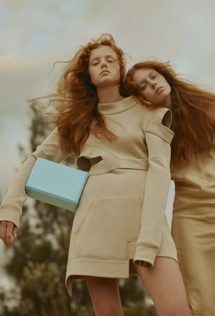 Harpers Bazaar  Field of Dreams