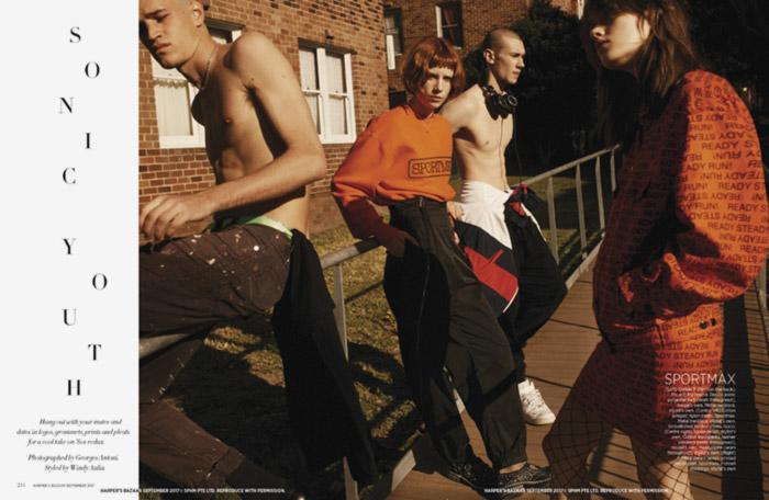 Harpers Bazaar  SONIC YOUTH