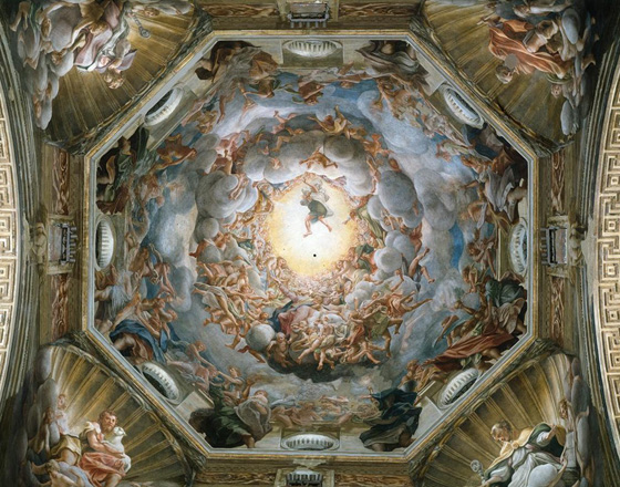 The Assumption of the Virgin, Antonion da Correggio - Cathedral of Parma, Italy