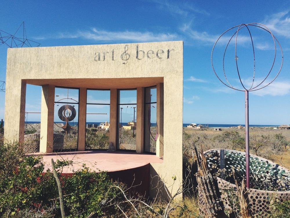 Art & Beer, Baja (Meghan Marsh King)