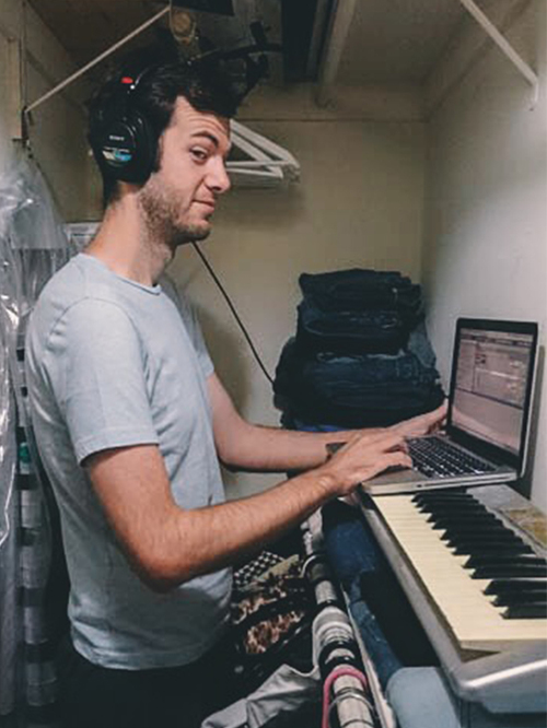 Matthew Carpenter, music and sound design