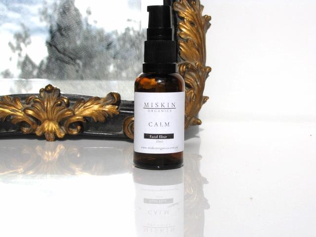 Miskin Organics Calm Elixir facial moisturiser