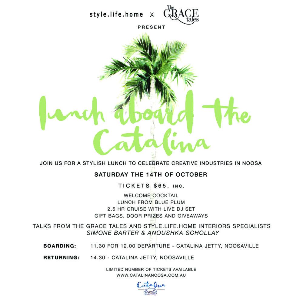 Invitation design by Brigitte May
