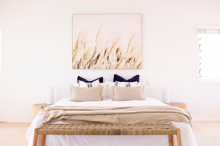 Styling Shorehaven | Master Bedroom | Styled by Simone Barter Furniture Casa Noosa