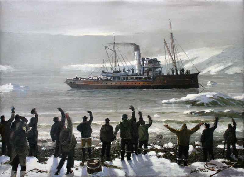 Shackleton, Escape From Elephant Island