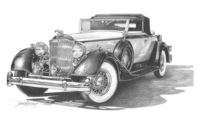 36 Packard Convertible