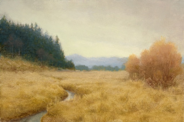 Patterson Creek, 2014, 8 x 12, Oil on linen