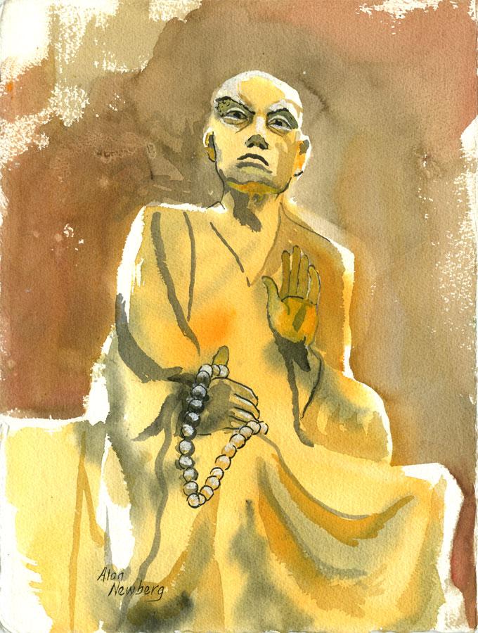 Chinese Monk Haitong
