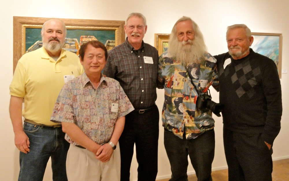 Paul Daneker, Stephen Hu, Frank Gaffney, Harold Johnson and Austin Dwye