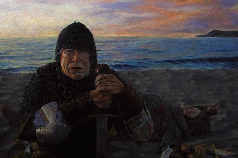 "Clone.Oil on Panel. 2013.12 x 16"""