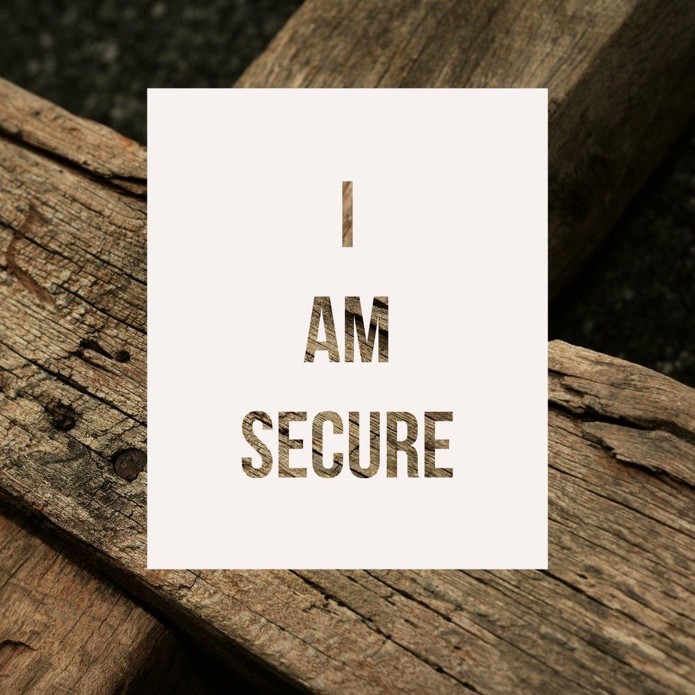 i am secure.jpg