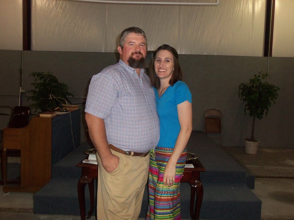 Deacon Barry Smithwith his wife jennifer -