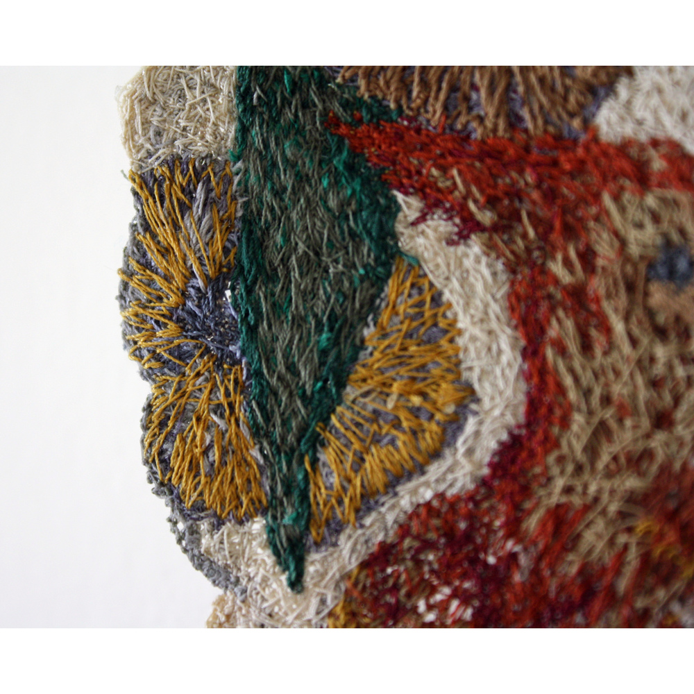 Killarney Plate, free-motion embroidery on dissolvable stabilizer 2010