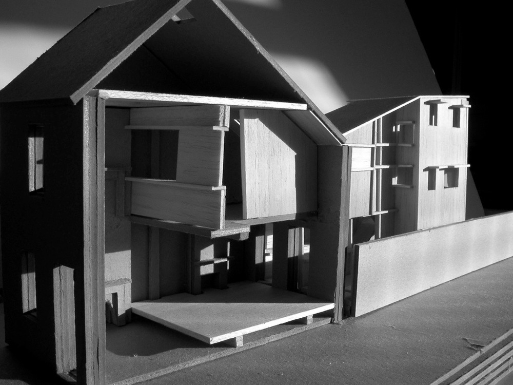 1:50 Working model for the Queens Park House