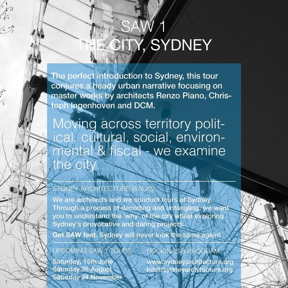 Sydney Architecture Walks_SAW1_The City Sydney