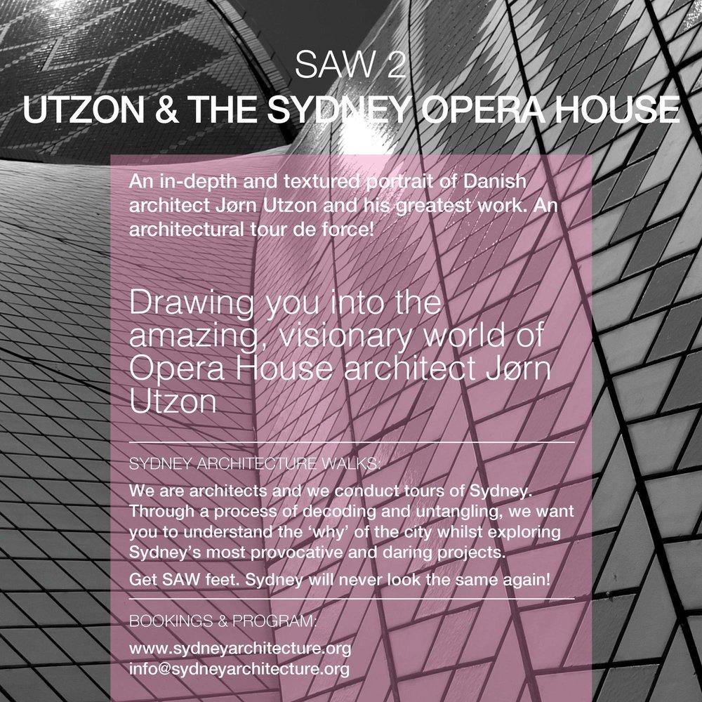 SAW2. Utzon & the Sydney Opera House