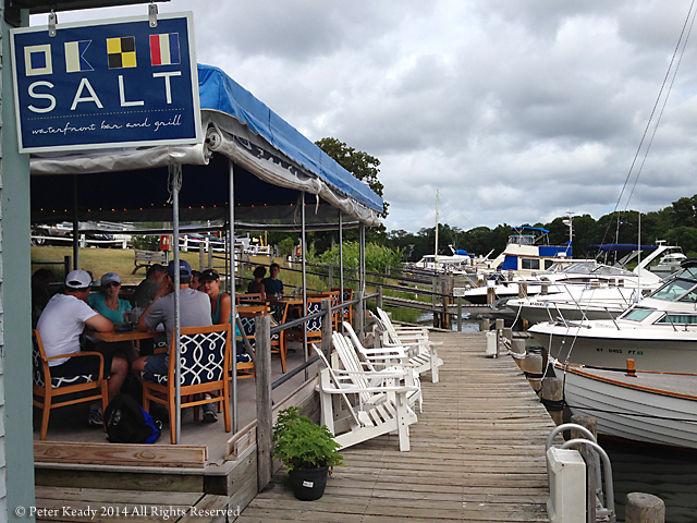A little hidden cafe on Shelter Island. An appropriate name for what I was about to experience and learn as the storm blew in from the West.