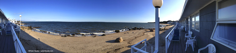 The views can be spectacular, with a little help! Long Island sound. It was breathtaking!