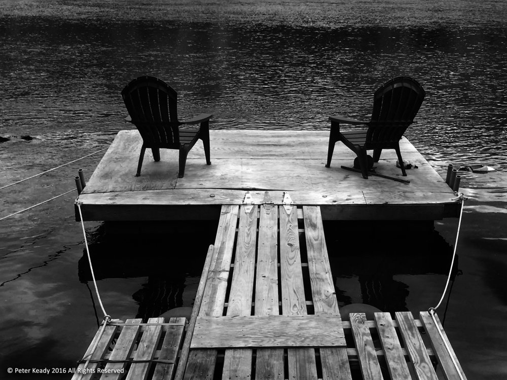 Lonely chairs. Imagery sometimes evokes the deepest sense of emotion. This is how I felt, often, during my wife's illness.
