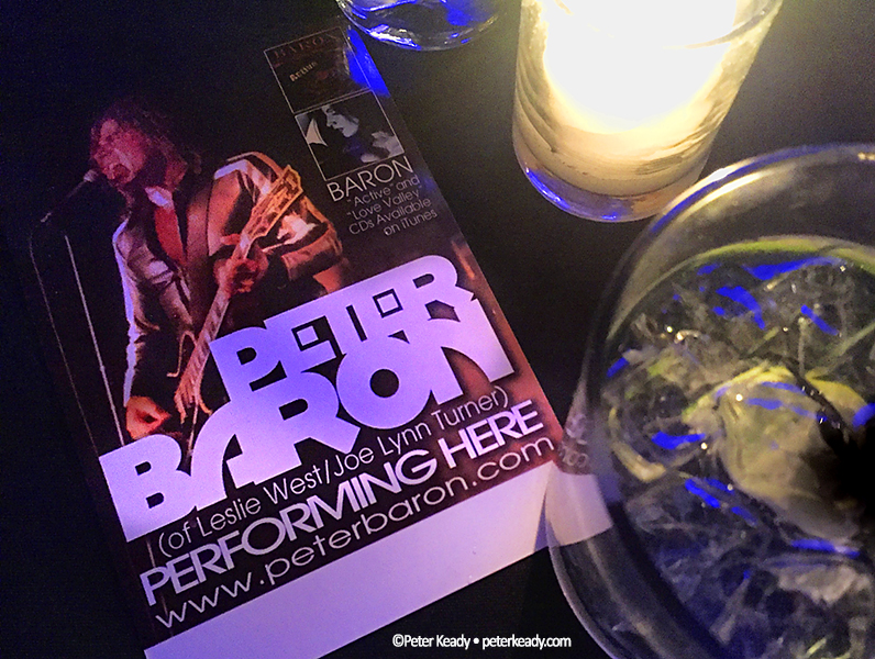 Peter Baron shredded it at  The Cutting Room , complete with a singing Happy Birthday to his Mom! What an encouraging night!