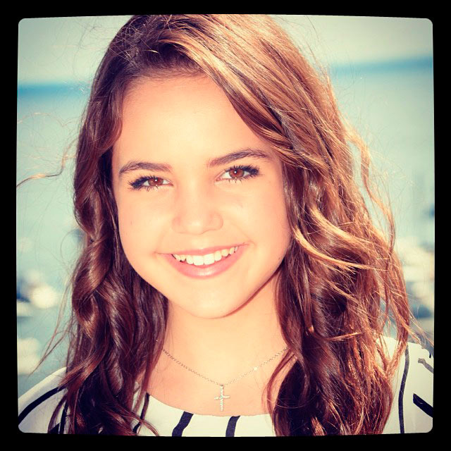 Actress- Bailee Madison      Make-Up Artist / Hair Stylist - MARA CAPOZZI