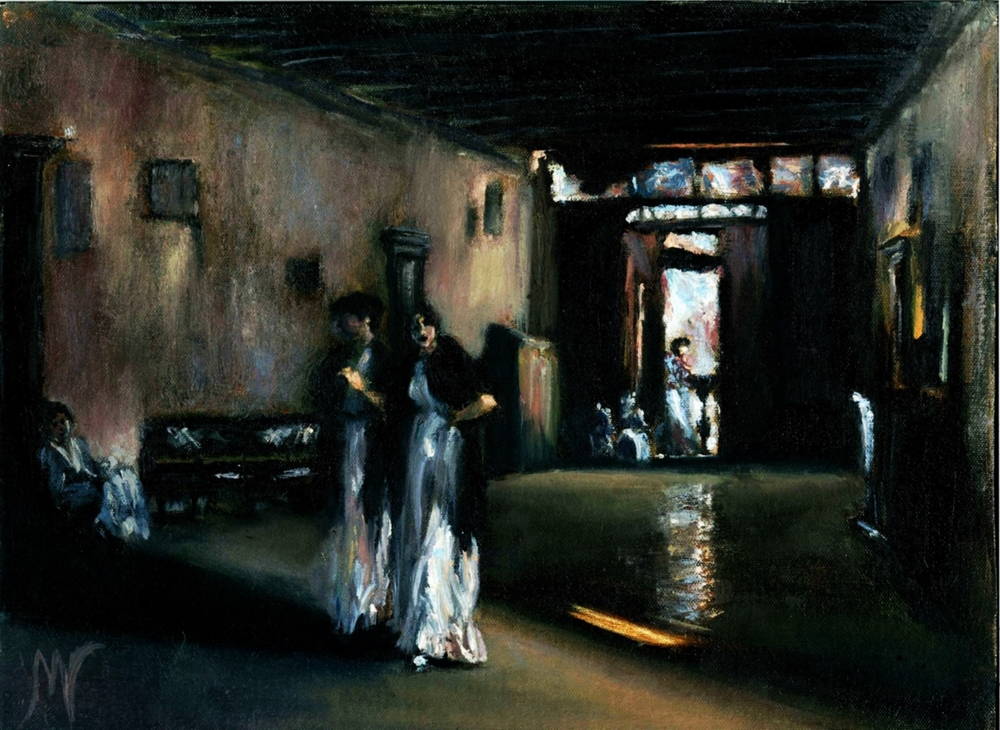 Venetian Interior after John Singer Sargent
