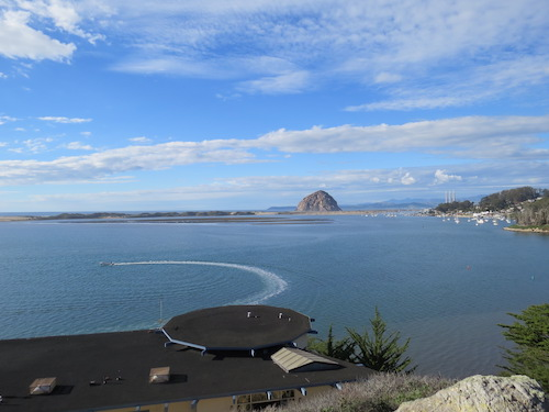 Overlook above the Morro Bay Natural History Museum.