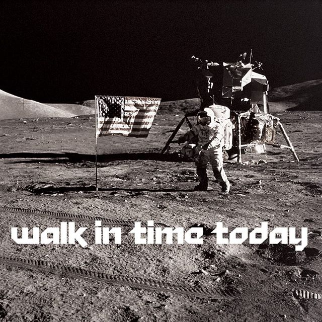 We may not have walked on the moon, but you can walk in and get tattooed today!!
