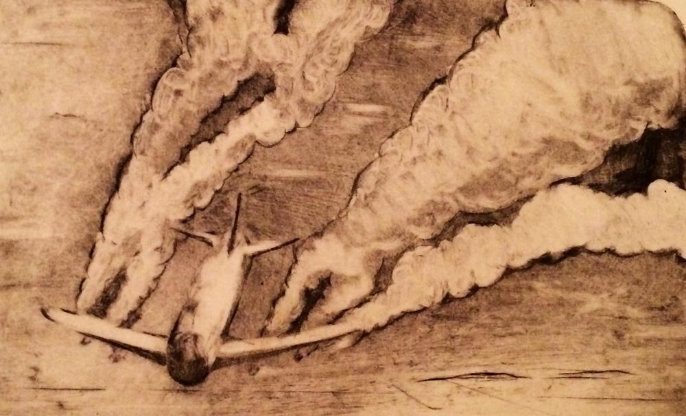 "Trails (2012) 8"" x 10"" print"