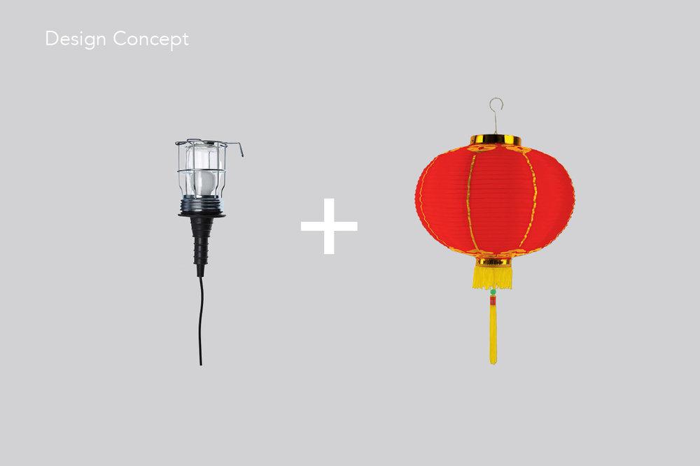 Wanderlamp design concept