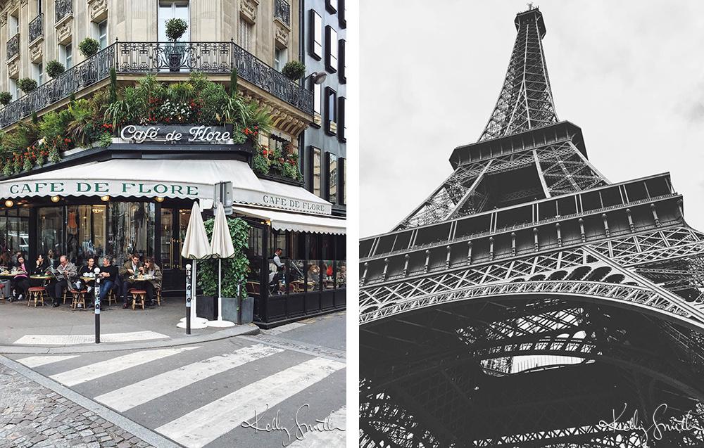 Café de Flore / Tour Eiffel