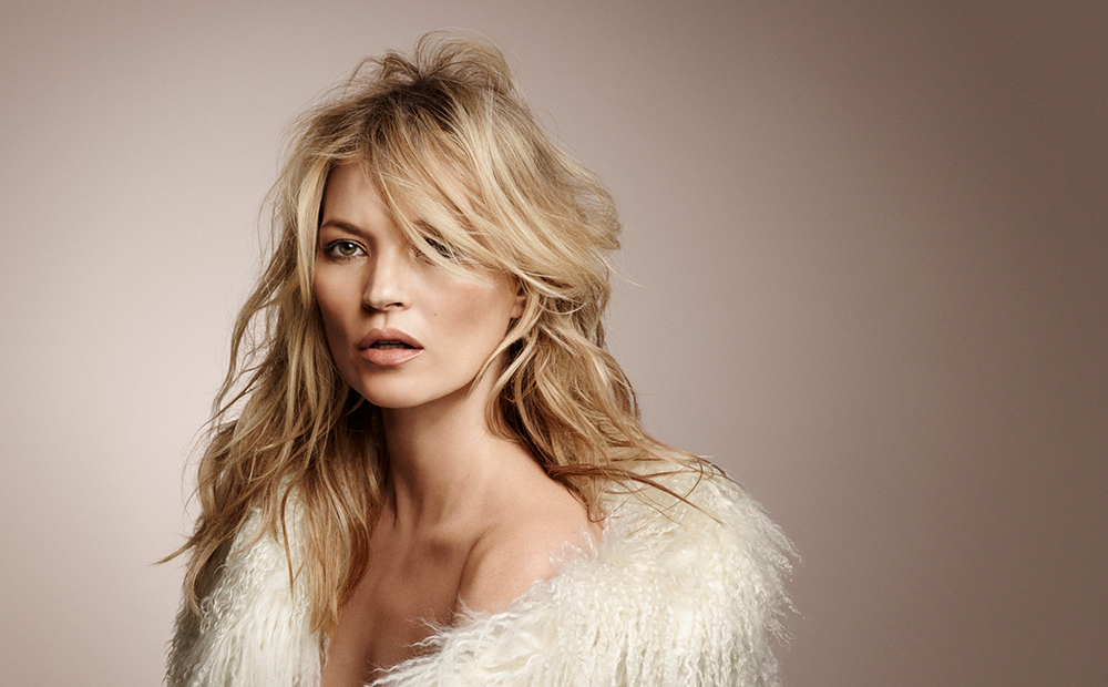 Kate Moss photographed by Craig McDean for Rimmel London