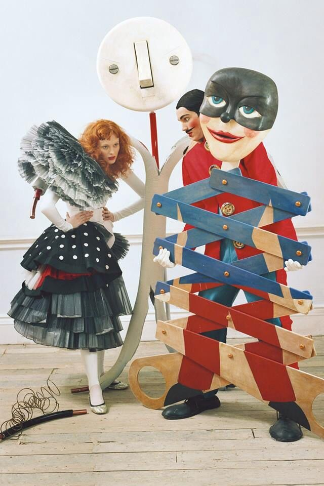 Karen Elson photographed by Tim Walker, Vogue UK, 2008