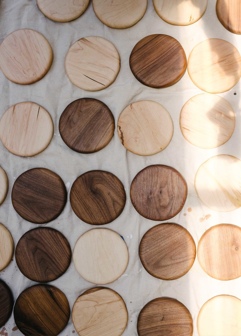 Erin Malloy, melbourne woodworker and maker | Hand carved wooden stacks for Country Style