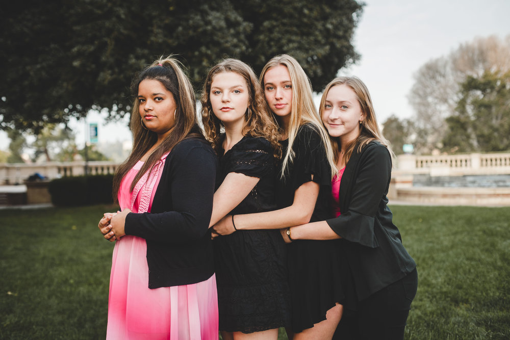Mezzos:  Jade, Caroline, Carly, & Anna