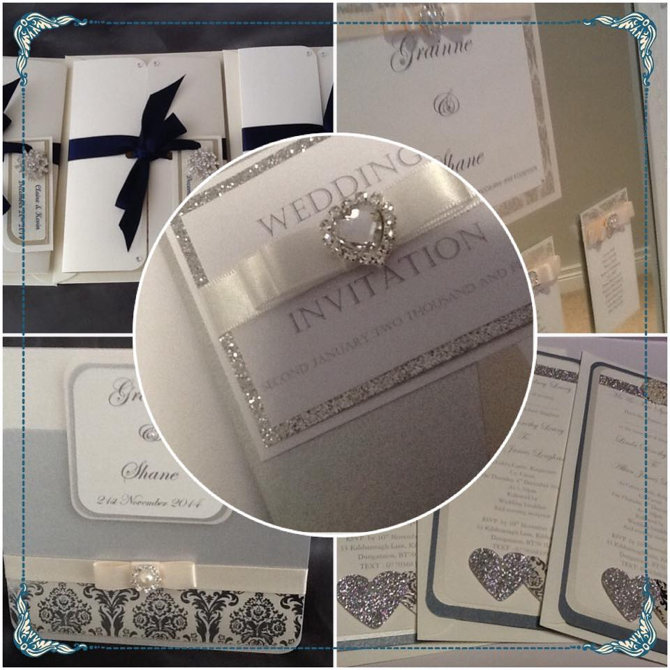 Busybee Bespoke Wedding Stationery - create handmade wedding invitations to suit all budgets.Free consultations available to discuss design ideas. (Image provided by Busybee Bespoke Wedding Stationary)