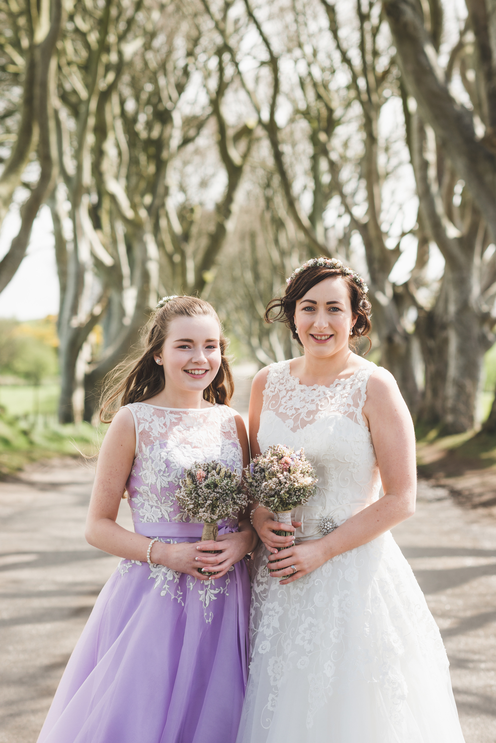Northern_Ireland_Wedding_Photographer_Pure_Photo_NI_Shauna_Lewis_The_Dark_Hedges_bride_bridesmaid