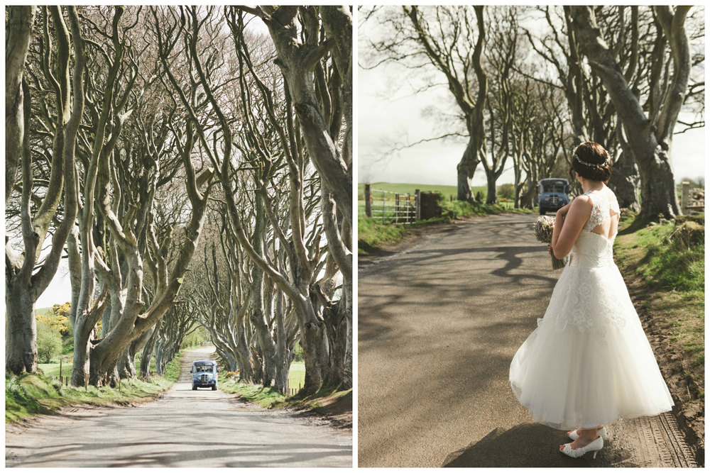 Northern_Ireland_Wedding_Photographer_Pure_Photo_NI_Shauna_Lewis_The_Dark_Hedges_vintage_bus
