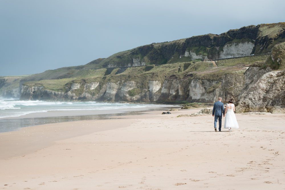 Northern_Ireland_Wedding_Photographer_Pure_Photo_NI_Shauna_Lewis_White_Rocks_Beach_bride_and_groom
