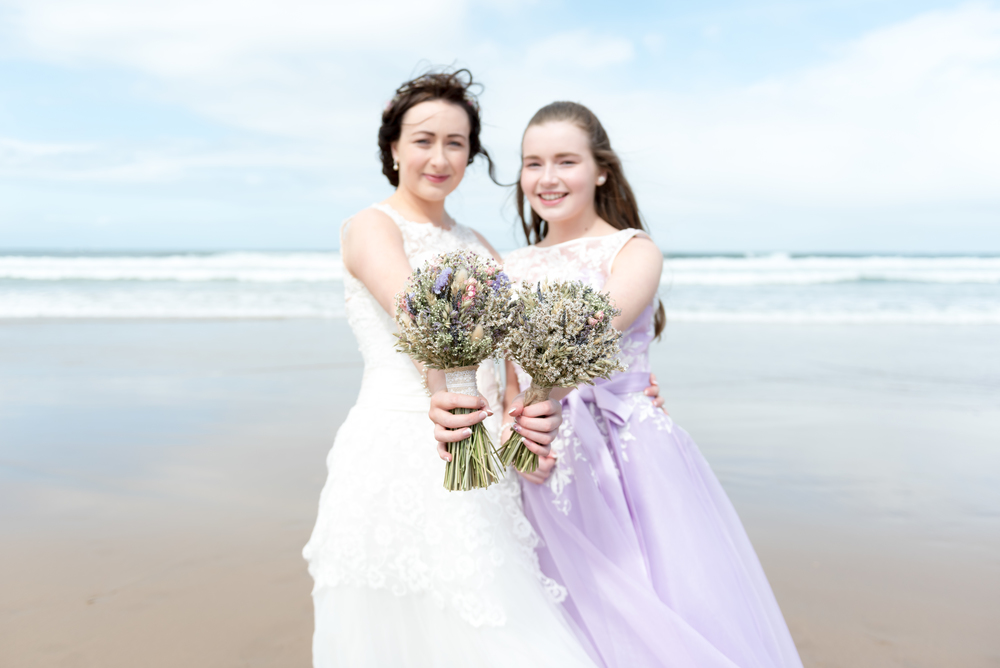 Northern_Ireland_Wedding_Photographer_Pure_Photo_NI_Shauna_Lewis_White_Rocks_Beach_Bride_Bridesmaid