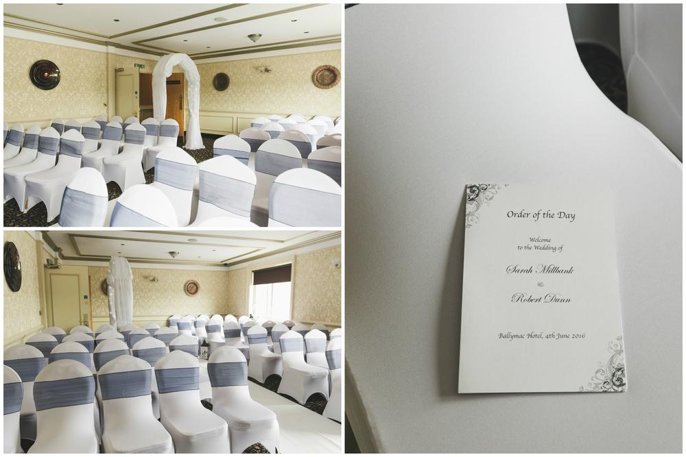 Ballymac_hotel_wedding_lisburn_ceremony_set_up