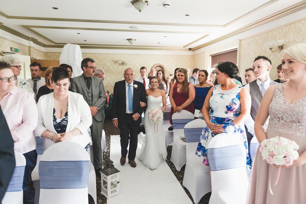 Ballymac_hotel_wedding_lisburn_bride_ceremony_aisle