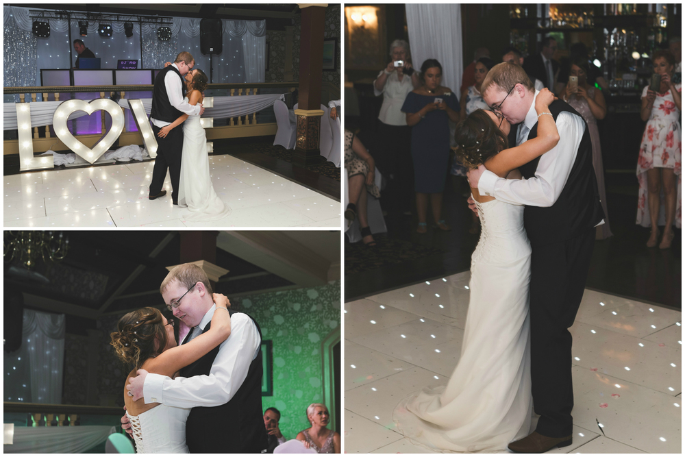 Ballymac_Hotel_Lisburn_Wedding__Bride_and_Groom_First_Dance