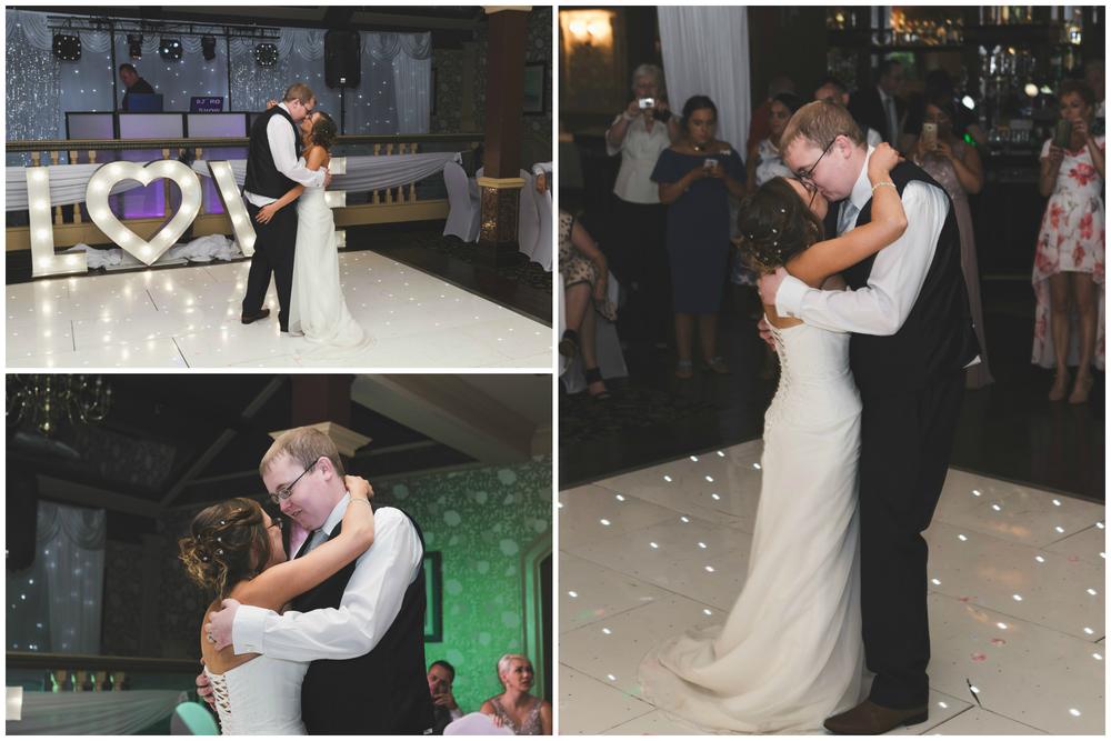 Ballymac_Hotel_Lisburn_Wedding__Bride_and_Groom_First_Dance