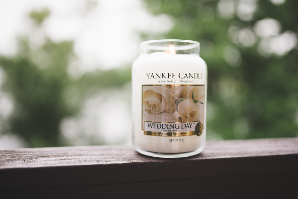 Lusty Beg Island Wedding Pure Photo N.I Candle