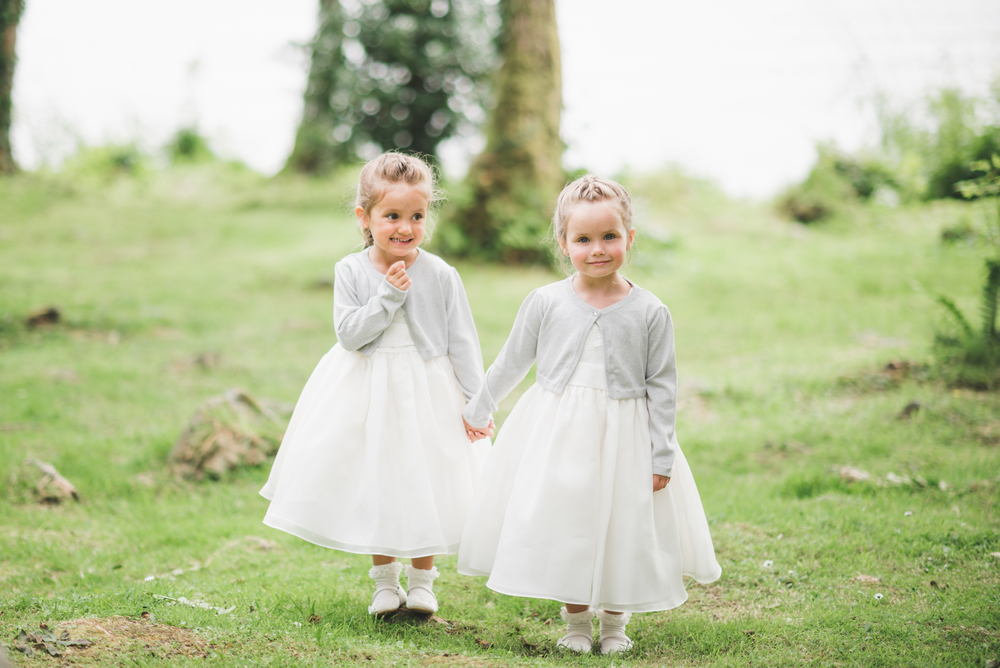 Lusty Beg Island Wedding Photographer Pure Photo N.I Brides The Flower Girls